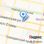 Белгородский фонд социальной поддержки населения на карте Белгорода