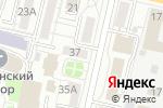 Схема проезда до компании Первая сбытовая компания в Белгороде