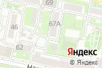 Схема проезда до компании Евродент в Белгороде