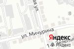 Схема проезда до компании Белгородрайснаб в Белгороде