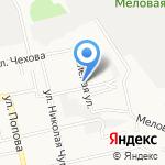 Белгородрайснаб на карте Белгорода