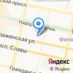 Секонд-хенд на карте Белгорода