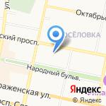 RC-Актив на карте Белгорода