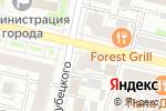 Схема проезда до компании Виктория-люкс в Белгороде