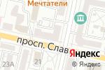 Схема проезда до компании Успех в Белгороде