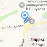 Комтрансстрой на карте Белгорода