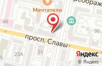 Схема проезда до компании Интурист-Экспресс в Белгороде