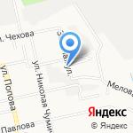 Обелиск на карте Белгорода