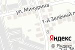 Схема проезда до компании Обелиск в Белгороде