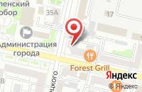 Схема проезда до компании Адвокатский кабинет Береславцева М.В. в Белгороде