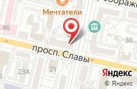Схема проезда до компании Двери Белоруссии в Белгороде