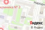 Схема проезда до компании СПЛЕТНИЦА в Белгороде