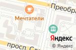 Схема проезда до компании Этаж в Белгороде