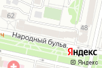 Схема проезда до компании Апрель в Белгороде
