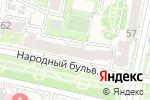 Схема проезда до компании Пивъ & Ко в Белгороде