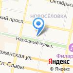 Апрель на карте Белгорода