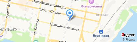 Selena на карте Белгорода