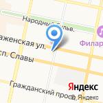 Этаж на карте Белгорода