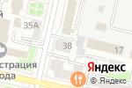 Схема проезда до компании Чистота и красота в Белгороде