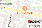 Схема проезда до компании Пятница в Белгороде