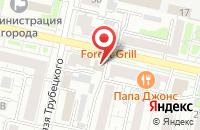 Схема проезда до компании Фактор в Белгороде