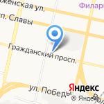БЕЛБЫТ service на карте Белгорода