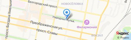 Блюз на карте Белгорода