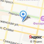Лалита на карте Белгорода