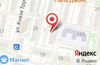 Схема проезда до компании Дом права в Белгороде