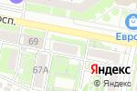 Схема проезда до компании АРТ Мастер в Белгороде