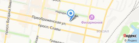 Ева+ на карте Белгорода