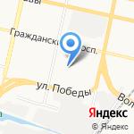Нотариус Карнаухова О.В. на карте Белгорода