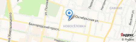 Детский сад №74 Забава на карте Белгорода