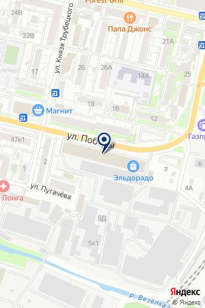 ВНЕШНЕЭКОНОМИЧЕСКАЯ ОРГАНИЗАЦИЯ БЕЛЭНЕРГОМАШТРАНС на карте Белгорода