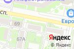 Схема проезда до компании Средняя общеобразовательная школа №14 в Белгороде