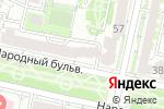 Схема проезда до компании Салон цветочной моды в Белгороде