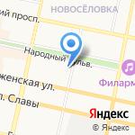 Чайный домик на карте Белгорода