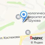 Автошкола на карте Белгорода