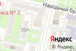 Схема проезда до компании Бинбанк, ПАО в Белгороде