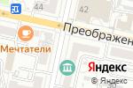 Схема проезда до компании Flor2u.ru в Белгороде