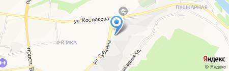 Управление Белгорблагоустройство МБУ на карте Белгорода