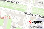 Схема проезда до компании Ломбард-ТВ в Белгороде