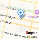 MAXIMA на карте Белгорода