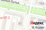 Схема проезда до компании Блюз в Белгороде