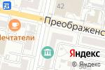 Схема проезда до компании Творческая мастерская архитектора Алиева А.А. в Белгороде