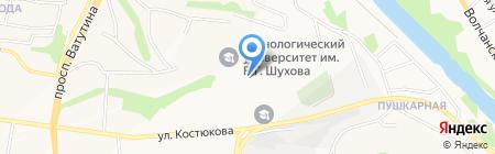 Институт переподготовки и повышения квалификации специалистов на карте Белгорода