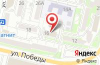 Схема проезда до компании Ройлком в Белгороде
