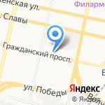 Выбор-Сервис на карте Белгорода