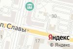 Схема проезда до компании Банкомат, Курскпромбанк, ПАО в Белгороде