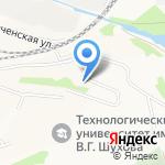 Детский сад №3 на карте Белгорода